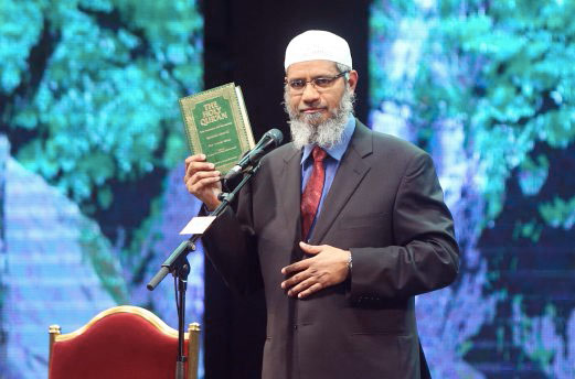 Non-Bailable Arrest Warrant Issued Against Zakir Naik In Money Laundering Case