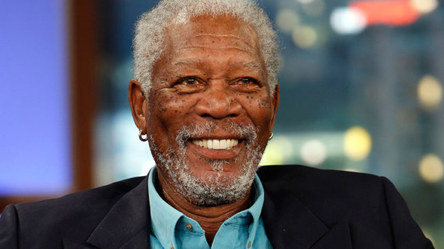 Actor Morgan Freeman finds making TV shows challenging