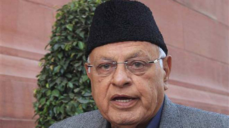 Kashmiri youth have picked up arms for a cause, can't be intimidated with death threats: Farooq Abdullah