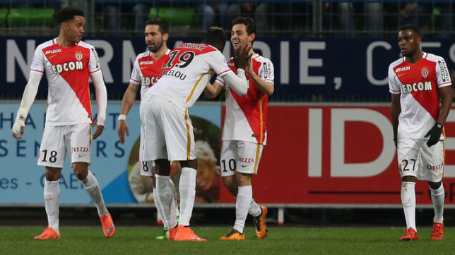 Ligue 1: Monaco hammer Nantes, Marseille back on winning track