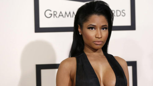 Rapper Nicki Minaj signs with modelling agency