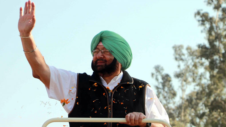 Amarinder Singh elected as CLP leader