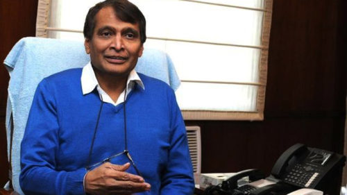 Railway Minister Suresh Prabhu launches first phase of station redevelopment programme