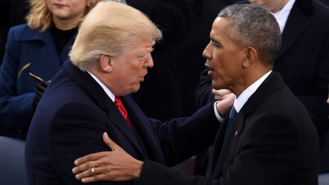 US President Donald Trump signs order overhauling Barack Obama's attempts to slow climate change