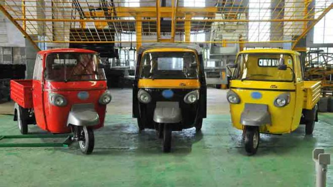 Auto-sales-three-wheeler-Mahindra-Mahindra