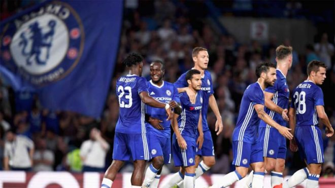 Chelsea beat Middlesbrough, one win away from EPL title