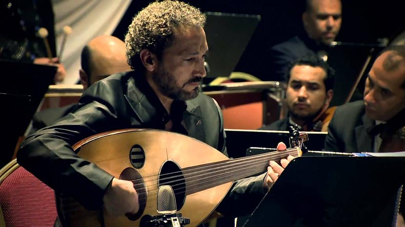 "Born in 1963 in Iraq's Kut, the oud player ""is a musician internationally known for being one of the world's greatest oud virtuosos""."