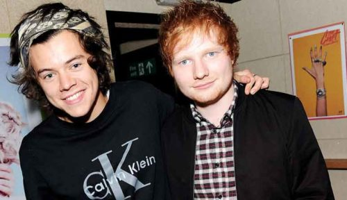 Singer-Ed-Sheeran-says-Harry-Styles-working-on-quality-music