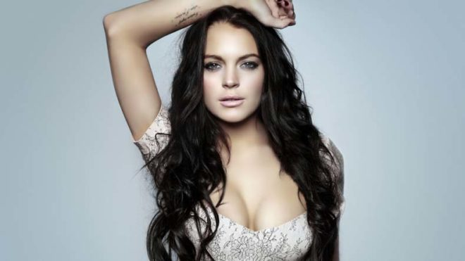 Actress Lindsay Lohan says she found solace after turning 30