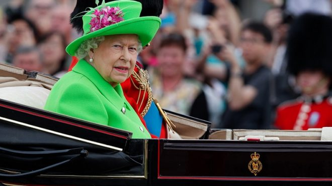 BRITAIN-LONDON-ROYAL-QUEEN-BIRTHDAY CELEBRATION