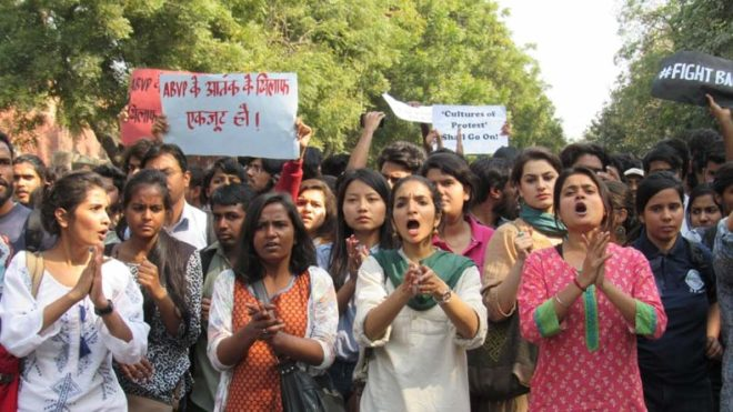 Ramjas College protest: Police register FIR of rioting in ABVP-AISA clashes