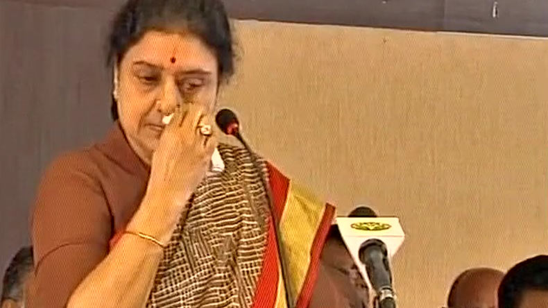 VK Sasikala may seek parole to attend nephew's funeral