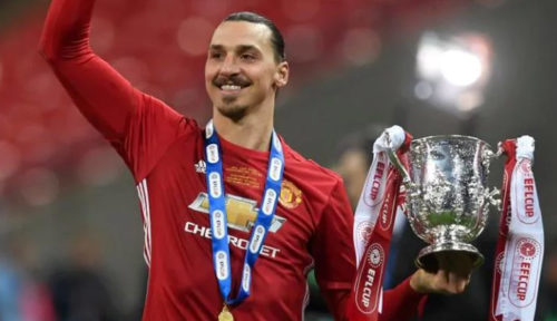 Manchester United wins English Football League Cup, Zlatan Ibrahimovic scores a double