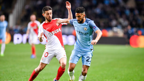 1-)Gael-Clichy-(R)-of-Manchester-City-competes-with-Bernardo-Silva-of-AS-Monaco-during-the-second-leg-of-the-Champions-League-Round-of-16-between