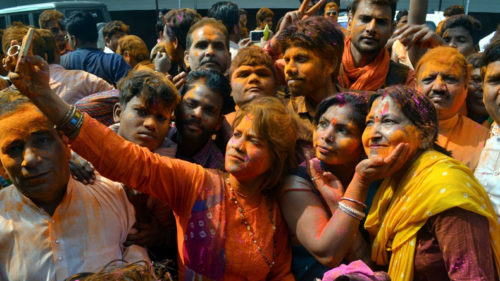 BJP supporters celebrate assembly election results: Story in pictures