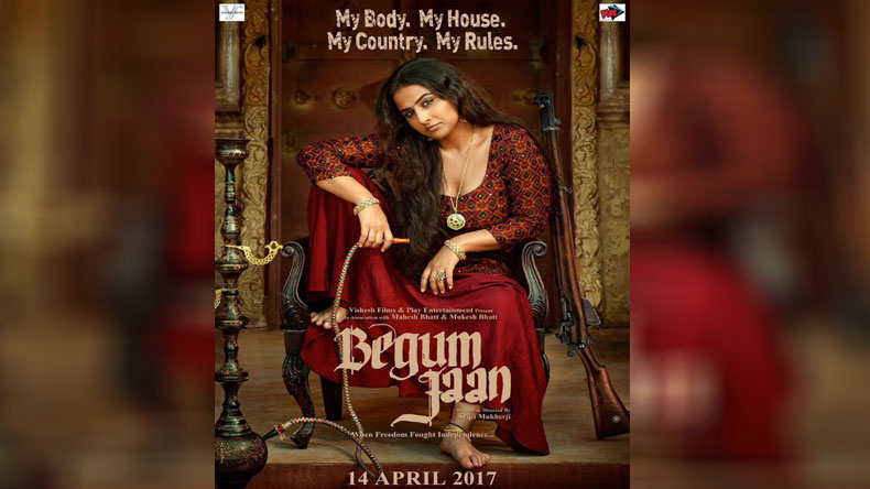 First Look out! Vidya Balan shares the FIRST poster of 'Begum Jaan'