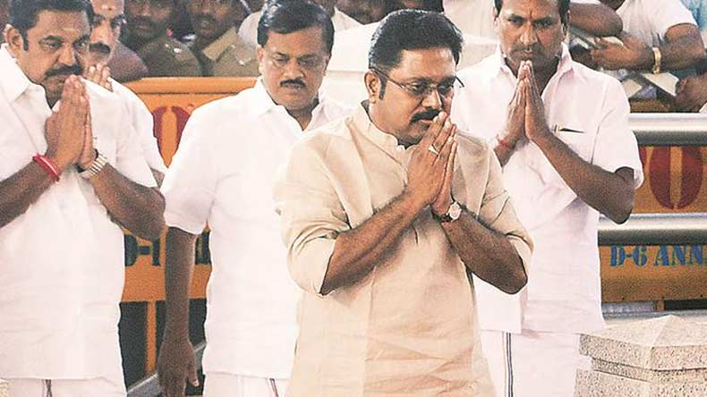 AIADMK fields Dinakaran for by-election