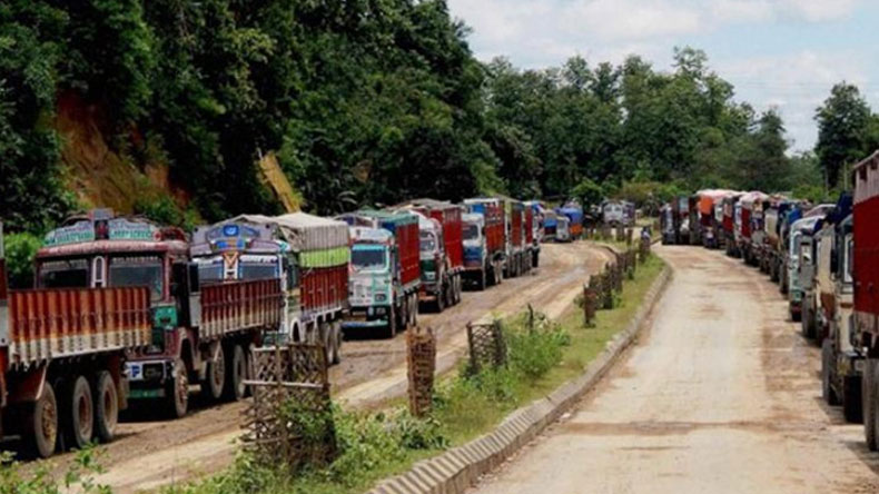 Indefinite economic blockade of Manipur to be lifted from midnight today