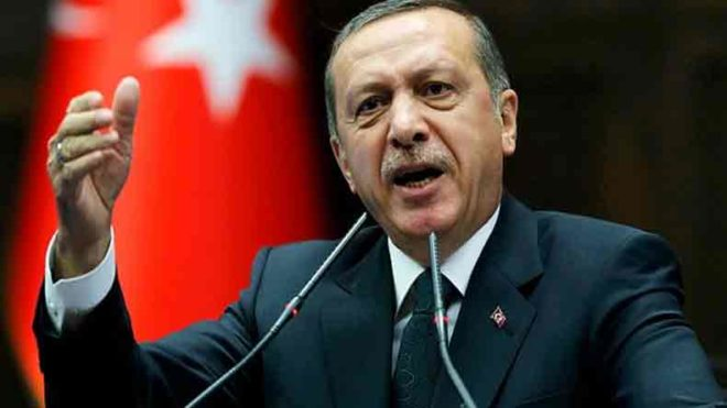 Turkish President Erdogan urges Israel to end occupation attempts of Palestine