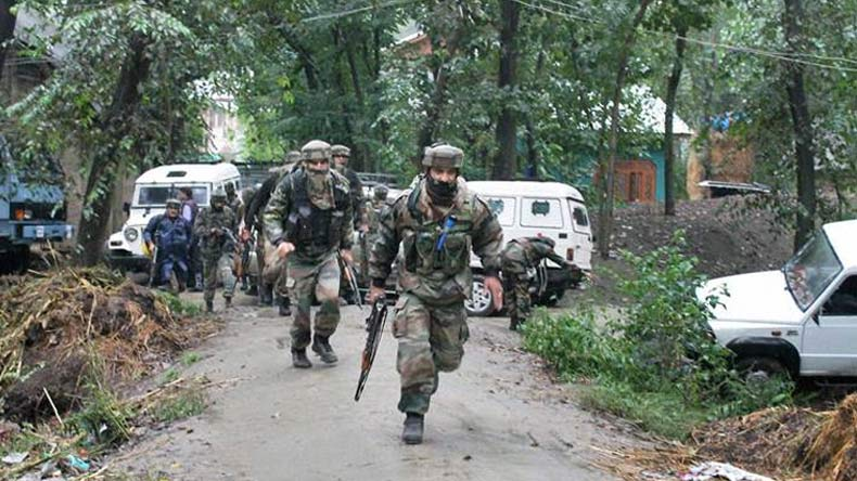 Two terrorists including top Hizbul commander killed in J&K's Pulwama