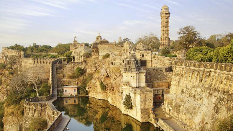 Padmavati' vandals back, break Chittorgarh Fort mirrors