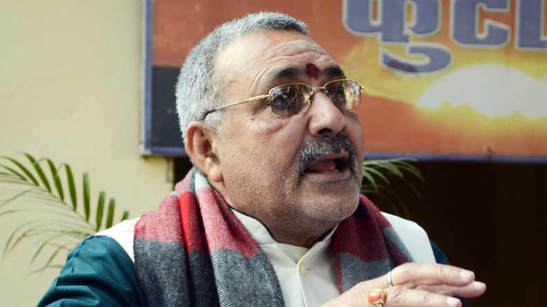 Babri Masjid case accused are innocent for public, says Union Minister Giriraj Singh