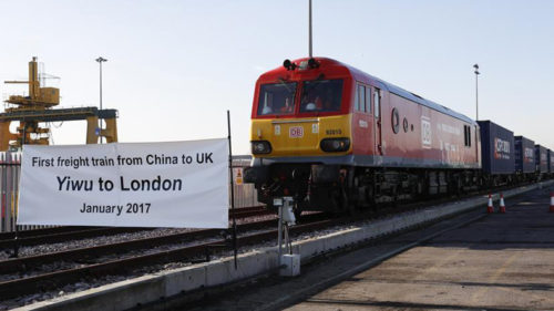 First China-Britain freight train completes round trip