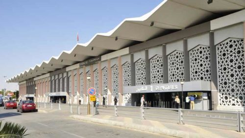 Explosion near Damascus International Airport; authorities trying to douse flame