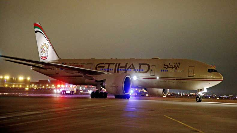 Take notes United! Etihad Airways turn around plane for elderly couple who wanted to meet dying grandson