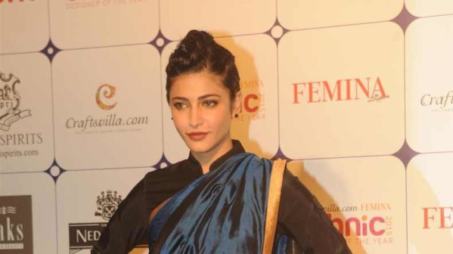 Learning-sword-fighting-was-exhilarating,-says-actress-Shruti-Haasan
