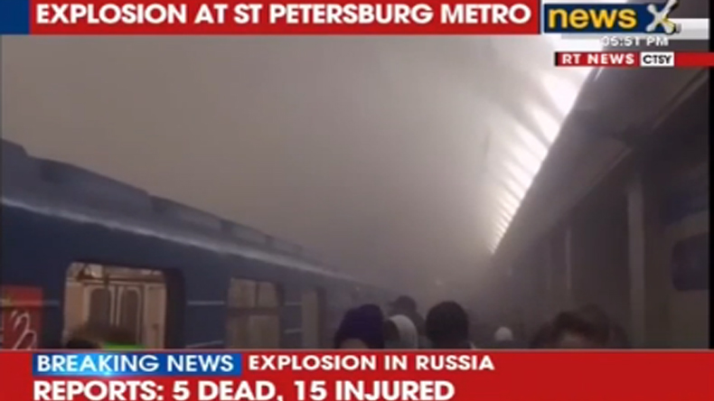 At least 10 killed in Russia's St Petersburg metro explosion