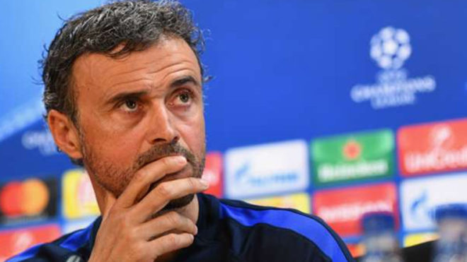 We needed to be more calm Luis Enrique after Barcelona's exit from UEFA Champions League