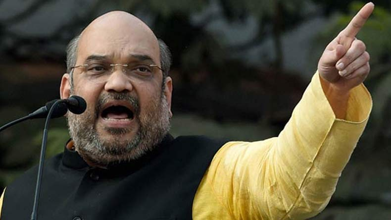 Amit Shah begins 'Vistaar Yatra', marks grand arrival in Jammu and Kashmir
