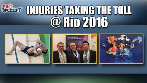 Contrary to belief, Wrestling is least injury prone in Olympics