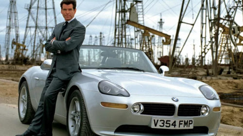 Actor Pierce Brosnan was frustrated with his James Bond films