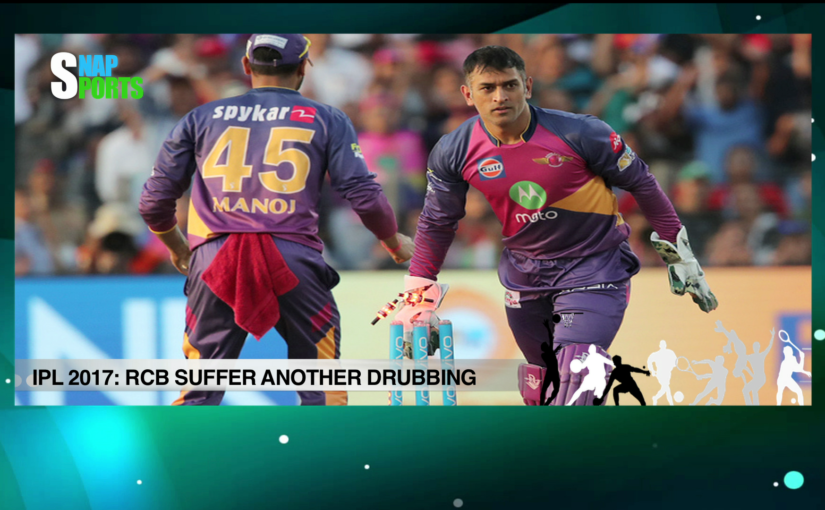 Sports Wrap - RPS beat RCB by 61 runs; Maria Sharapova defeated, goes down 3-6, 7-5, 6-4; & more