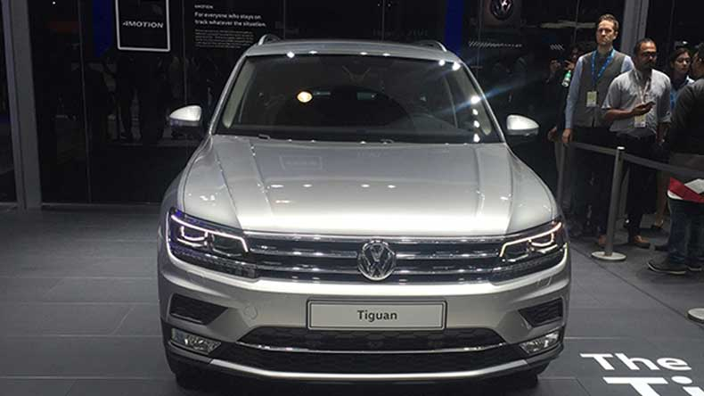Volkswagen Tiguan launched at Rs. 27.98 lakh