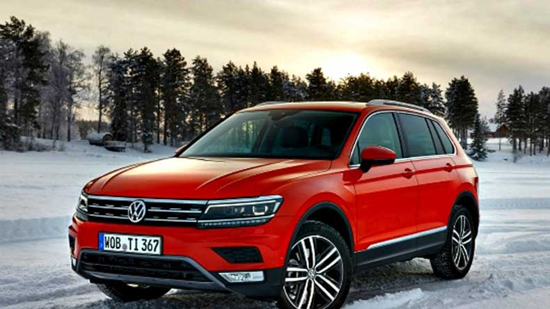 Volkswagen launches premium SUV Tiguan in India