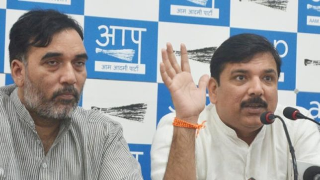 Election Commission working under political pressure: AAP