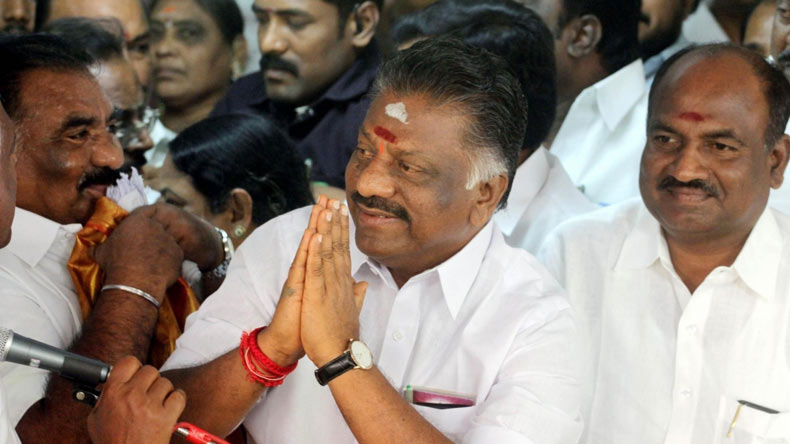 Panneerselvam rules out merger talks for now