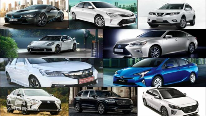 10 hybrid cars for a greener India
