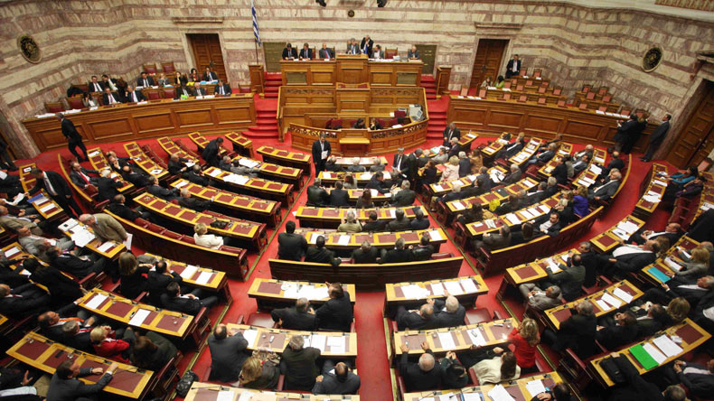 Greek parliament approves new austerity measures