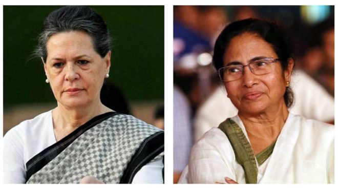 In-hospital-with-food-poisoning,-Sonia-Gandhi-speed-dials-Bengal-CM-Mamata-Banerjee