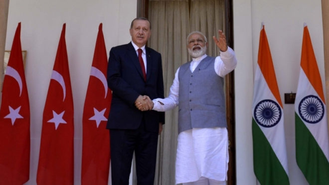 India, Turkey call for action against terror, seek enhanced economic ties