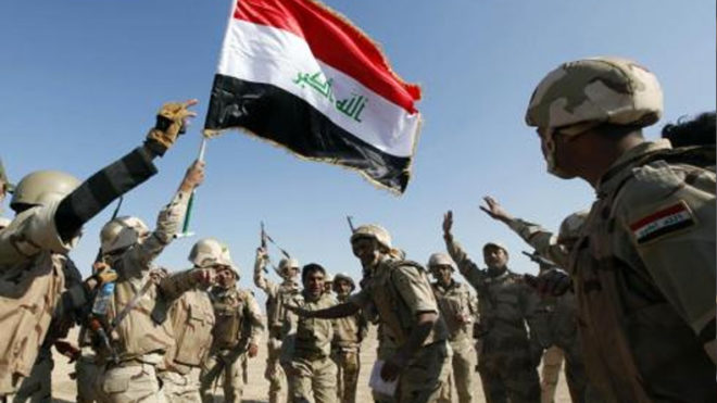 Iraqi forces continue push to free IS-held border areas