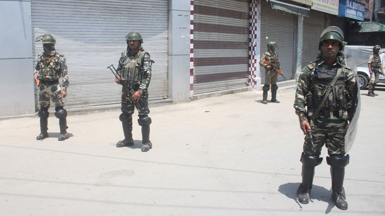 Sabzar Bhat killing: Curfew witnessed in different parts of Kashmir