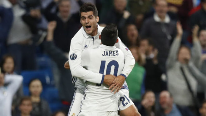 La-Liga-James-Rodriguez-and-Alvaro-Morata-on-target-as-Real-Madrid-steamrolls-Granada