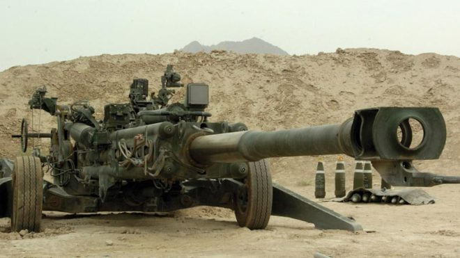 First two M777 Ultralight Howitzers arrive in India