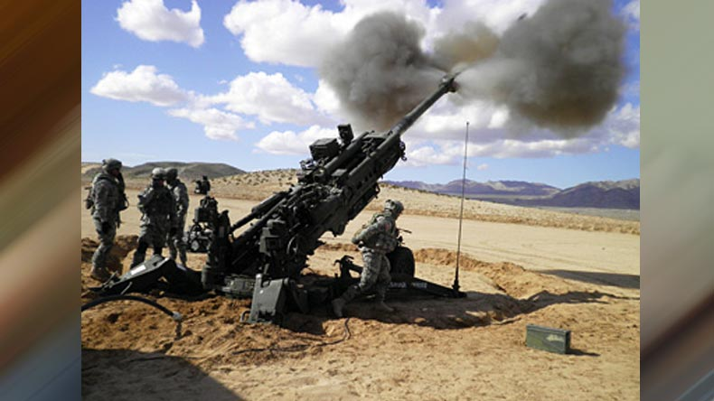 Army to welcome ultra light Howitzer M777 this weekend