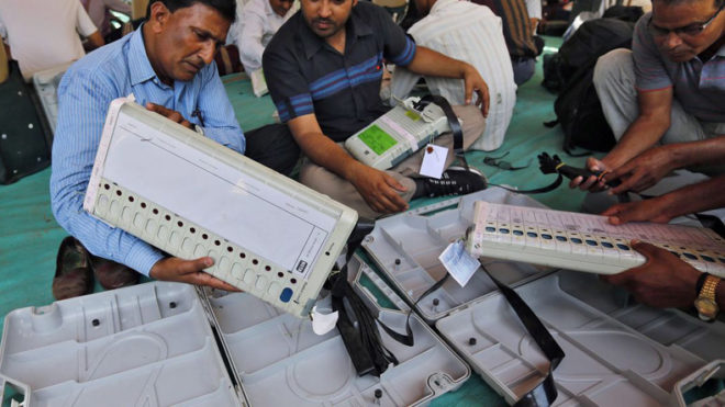 Court directs poll officials to seal civic poll EVM